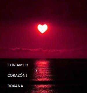 corazon en el mar