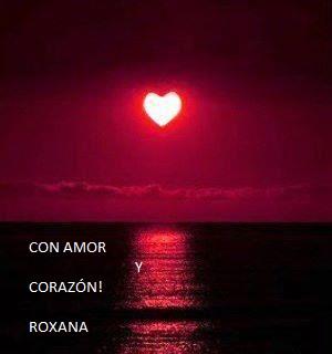 corazon en el mar