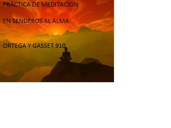 MEDITACIÓN EN SENDEROS