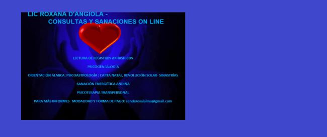ACTIVIDADES DE TERAPIA ON LINE