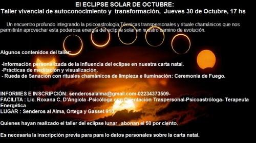 taller eclipse solar
