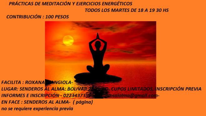 practicas de meditación