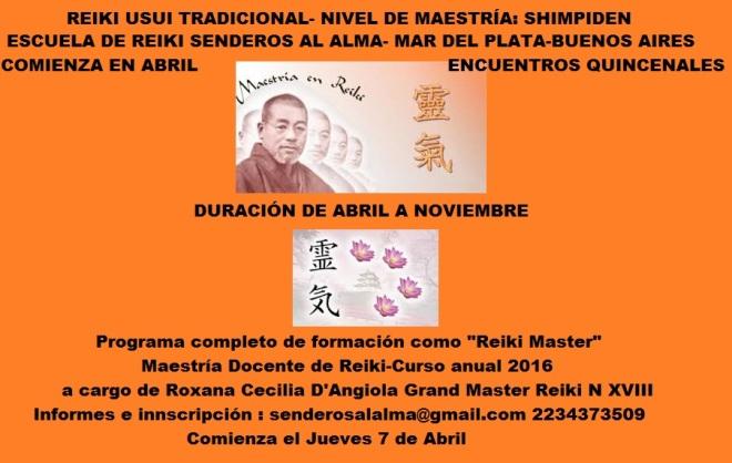 afiche Maestría