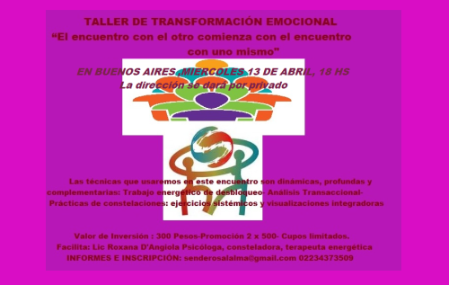 transformación emocional bs as