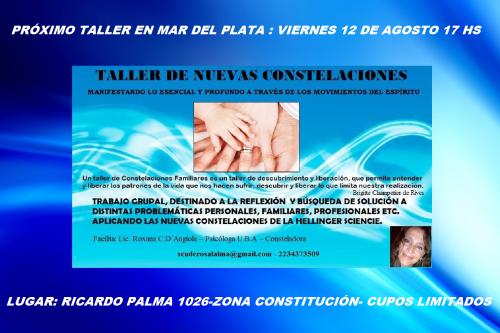 CONSTELACIONES 12 DE AGOSTO